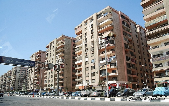 La vie Cairotte - les habitations