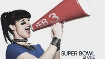 pauley perrette super bowl