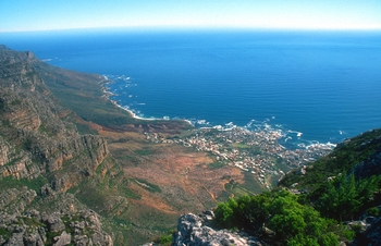 cpt camps bay towards twelve apostles from table mountain b