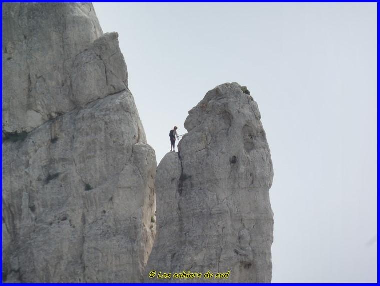 Calanques, cheminée de Guillermin et les Treize Contours