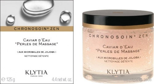 """Klytia : Caviar d'eau """" perles de massage """""""
