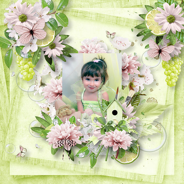 Natural freshness by Scrap'Angie