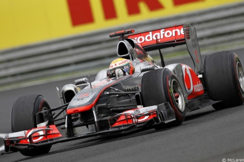 Hamilton a perdu sa radio pendant la course en Hongrie