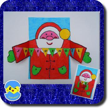 Dans les bras du Père Noël
