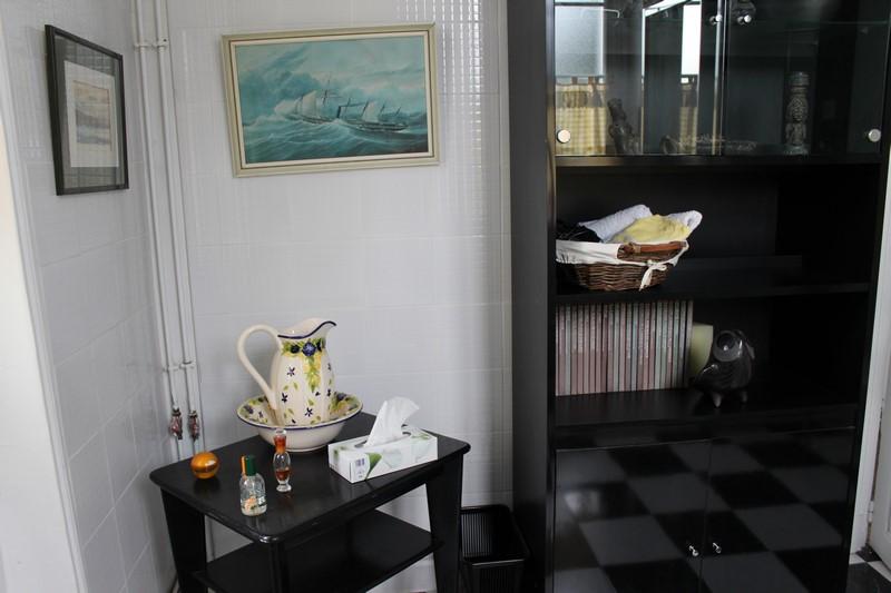 L'intérieur de la maison d'hôtes