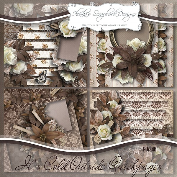 """It's Cold Outside"" by Ilonka's Scrapbook Designs"