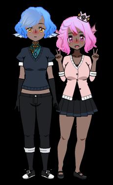 Johanna et Astryde