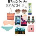 What's on my beach bag?