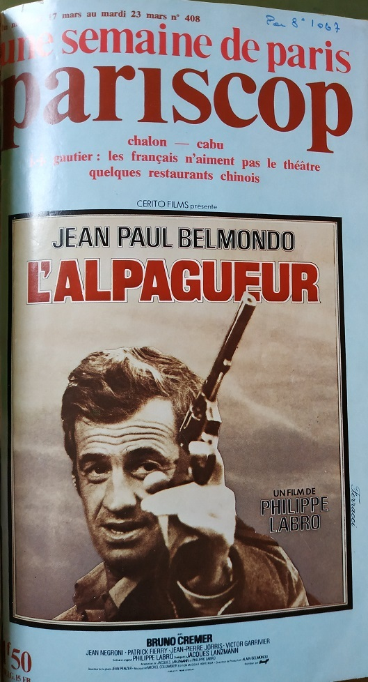 L'ALPAGUEUR - JEAN PAUL BELMONDO BOX OFFICE 1976