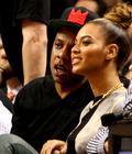 Beyonce et Jay Z au match des Hawks vs Heat