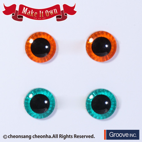 Eyechips Orange & Green