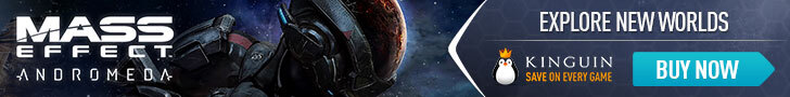 Kinguin Mass Effect Andromeda - 728x90