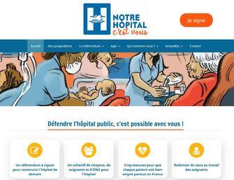 Des hôpitaux publics et de notre santé