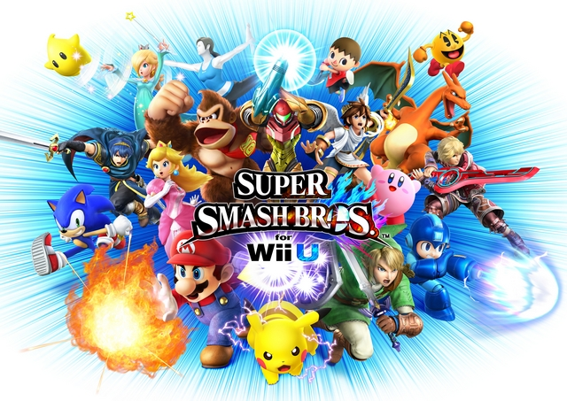 SSB. for Wii U Box Largest Artwork