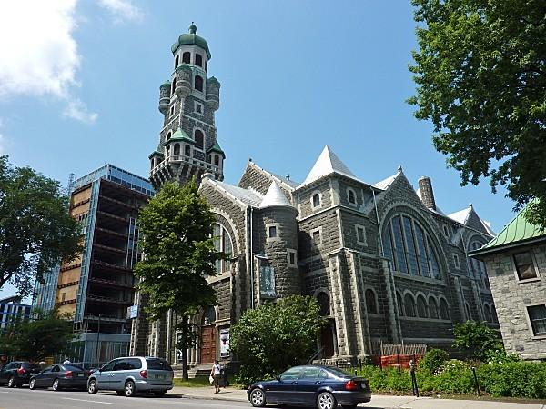 Québec Colline parlementaire église