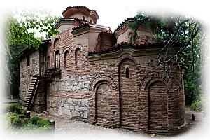 Boyana church whitened