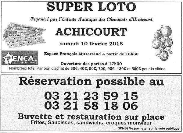 Loisirs à Arras et ses environs Week-end du 10 et 11 février.