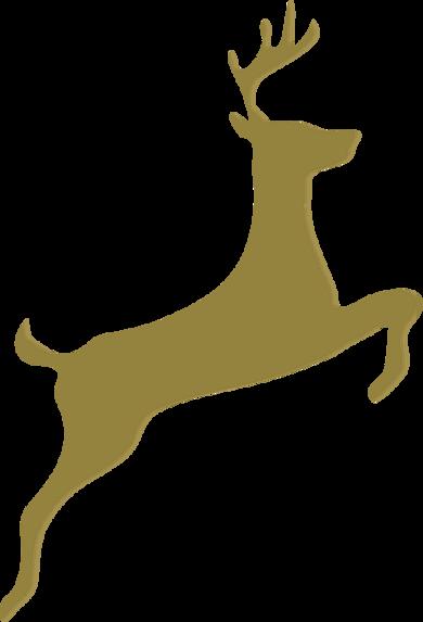 Silhouettes de rennes
