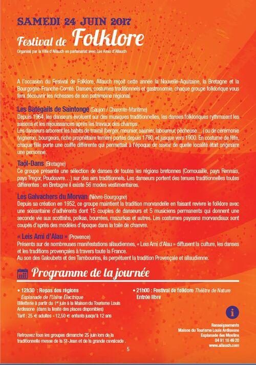 J-1 pour le Festival Folkorique des Provinces de France à ALLAUCH (13)