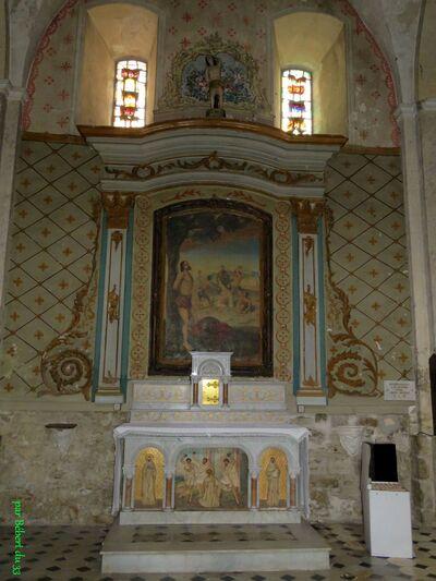 l'église de Fayence (83)