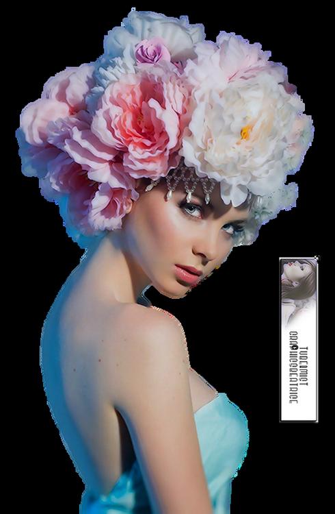 Tubes Femmes Fleurs