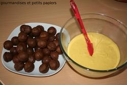 GATEAU BULLES DE CHOCOLAT