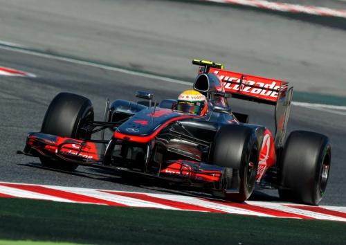 GP Espagne : Course - Hamilton 8°, Button 9°