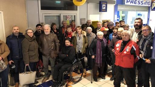 Morlaix. Un dernier rassemblement contre la fermeture du bureau de poste de La Boissière (OF.fr-27/10/18-14h16)