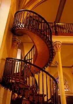 L'escalier mystérieux !