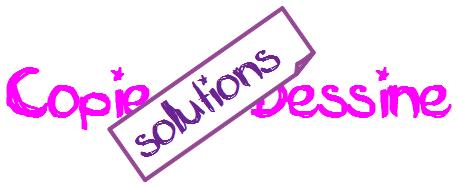 Copie et dessine CE1: les solutions!