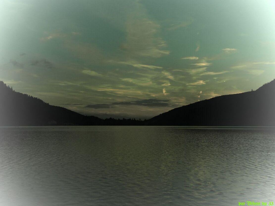 paysage au lac