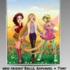 Belle, Raiponce et Clo