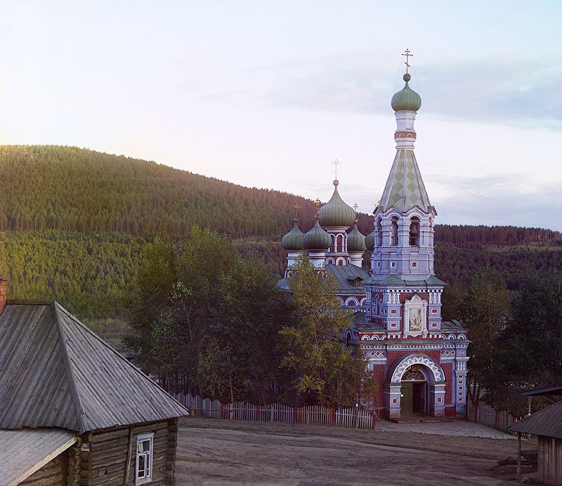 Church in Vetluga by Sergei Mikhailovich Prokudin-Gorskii