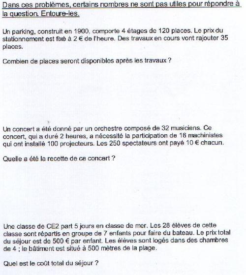 """LES """"CEINTURES"""" de Calcul des CE2"""
