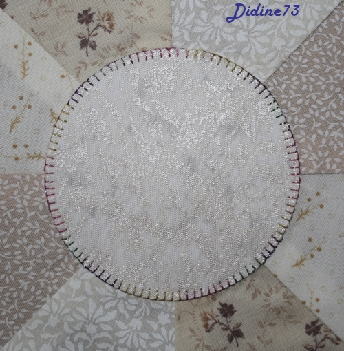 Mon tapis de sapin - étape 1 - zoom 1