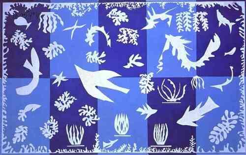 Une forêt à la manière d'Henri Matisse