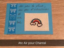 """Echange ATC """"Notre planète: ses éléments l'Air"""""""