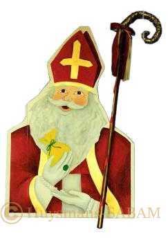 Décor peint Saint Nicolas - Arts et sculpture: peintre en décors, sculpteur