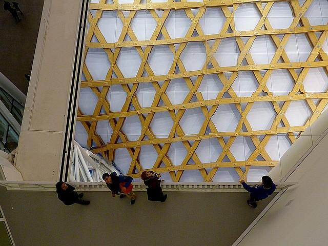 La charpente du Centre Pompidou-Metz 4 Marc de Metz 2011