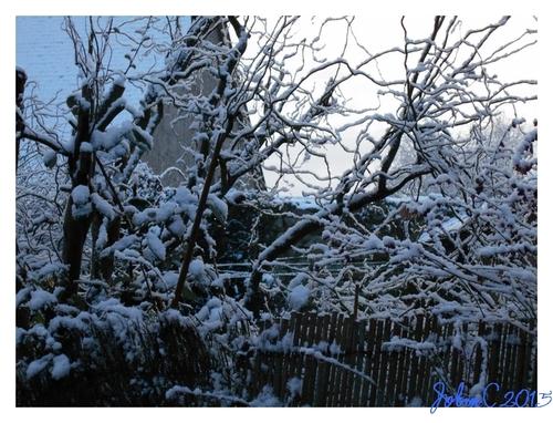 Il a neigé sur Broons