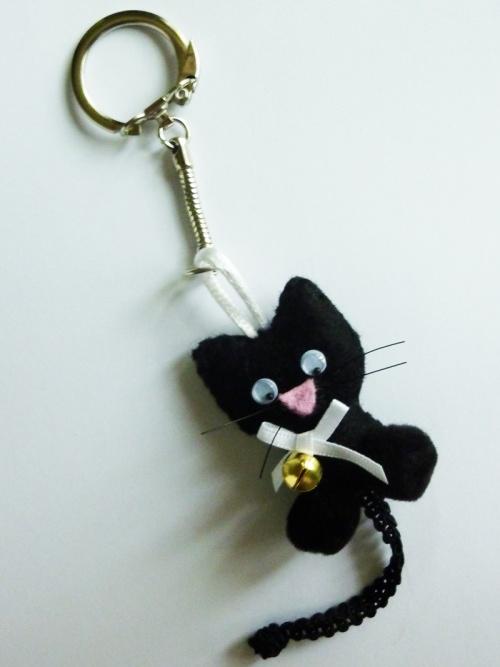 ♥ porte-clef Salem le chat noir ♥