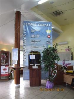 La visite de la poste de Papara.
