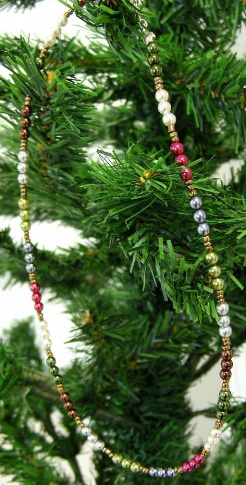 Bijoux de fêtes colorés...