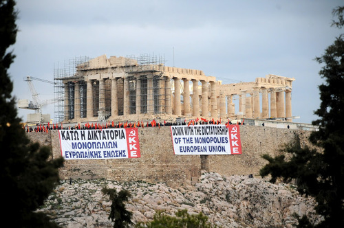 Billet Rouge-La preuve par Tsipras-par Floréal