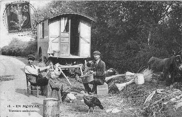 Souvenirs de Pierre Roy : les gens du voyage passant à Aisey sur Seine au XIXème siècle