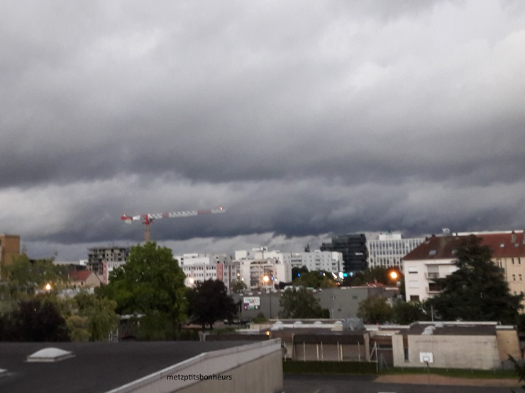 La météo fait des siennes...