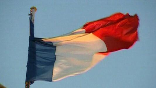 Drapeau français étendard drapeau tricolore