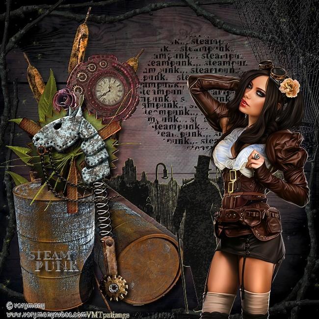Dans la série steampunk