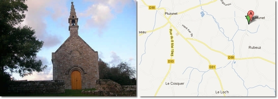Chapelle Saint-Idunet  Pluzunet
