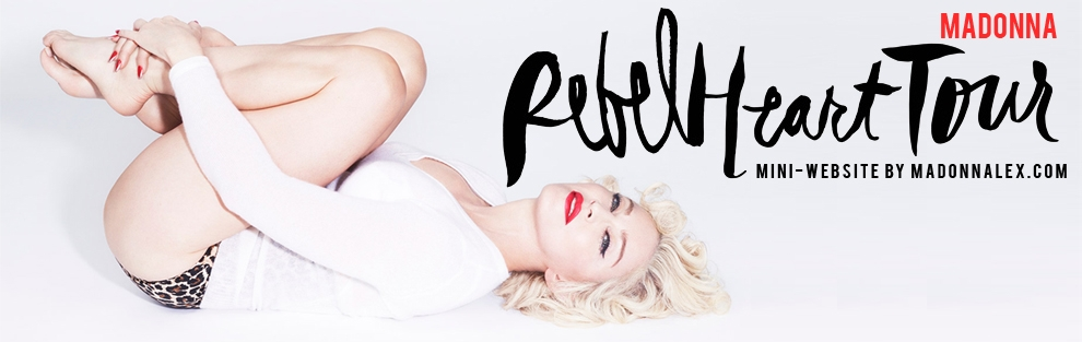Madonna Rebel Heart Tour Site